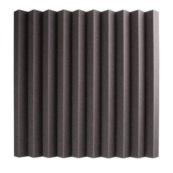 30mm studio acoustic foam wedge wall mounted