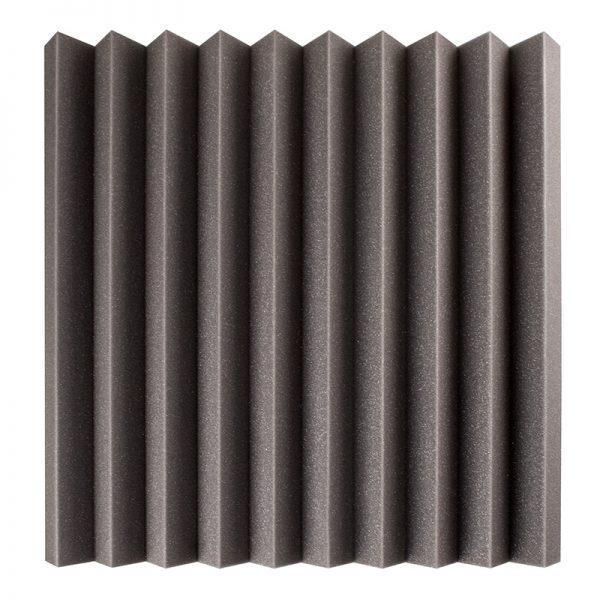 50mm studio acoustic foam wedge wall mounted