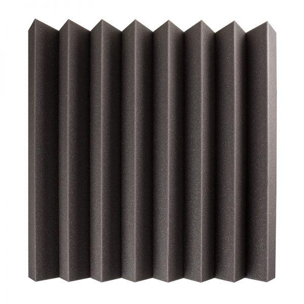 80mm studio acoustic foam wedge wall mounted