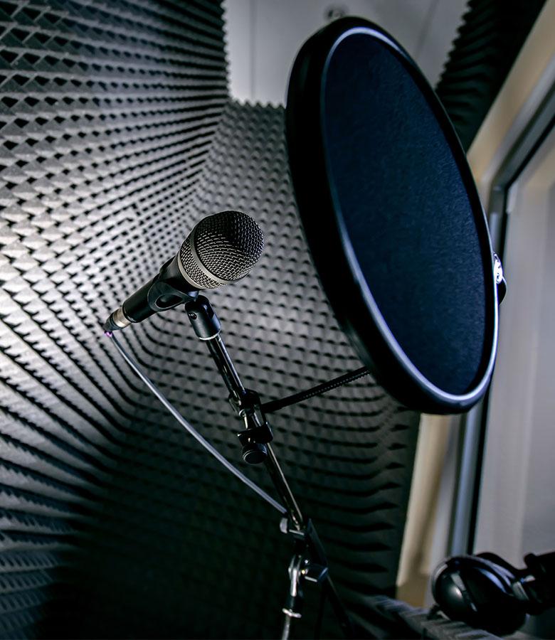 recording studio foam panels