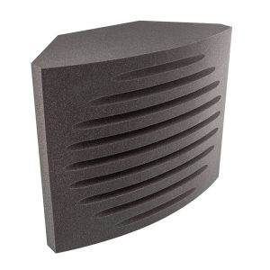 Small Recording Studio Foam Bass Traps