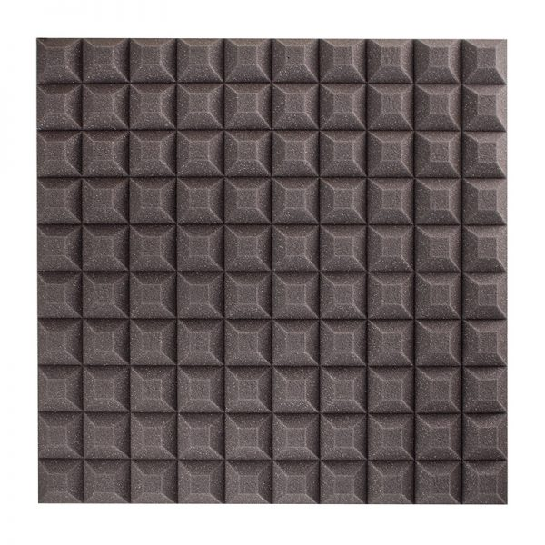 35mm studio sound proofing foam trapezoid wall mounted