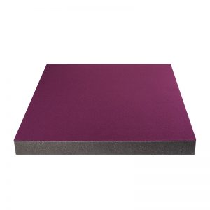 coloured acoustic foam tiles