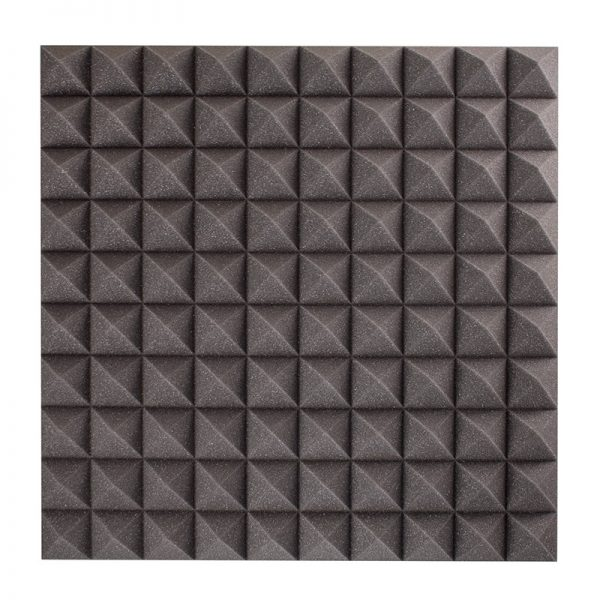 50mm pyramid sound absorption wall mounted
