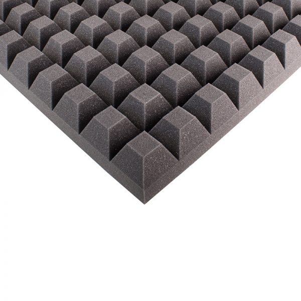 65mm studio sound proofing foam trapezoid