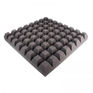 65mm studio sound proofing foam trapezoid panel