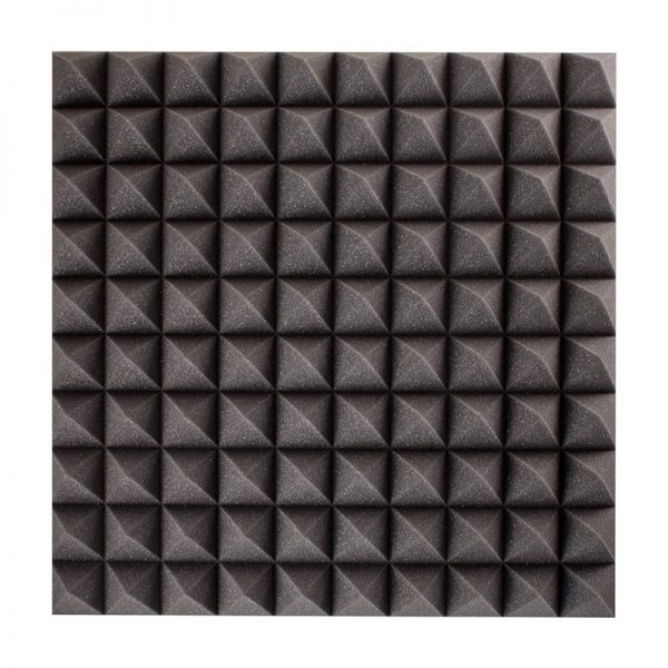 70mm pyramid sound absorption wall mounted